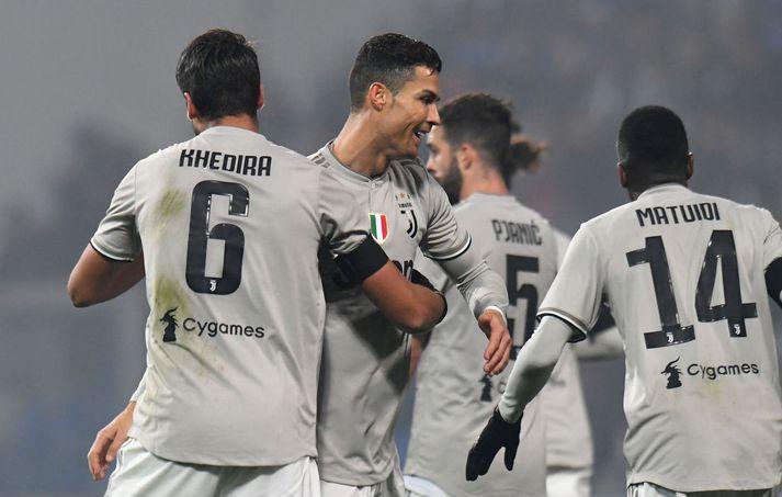 Ronaldo og félagar verða Ítalíumeistarar nema eitthvað ótrúlegt gerist