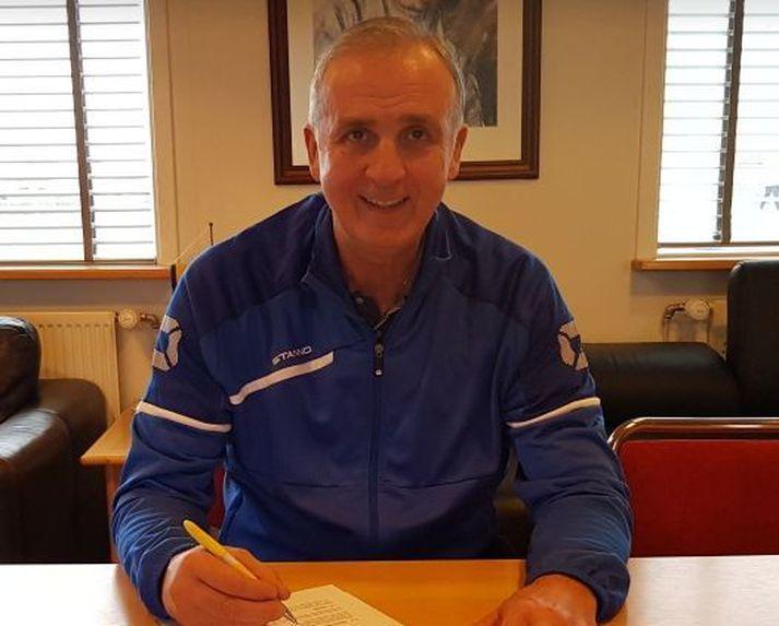 Fáir hafa haft jafn mikil áhrif á fótboltann í Grindavík og Milan Stefán Jankovic.