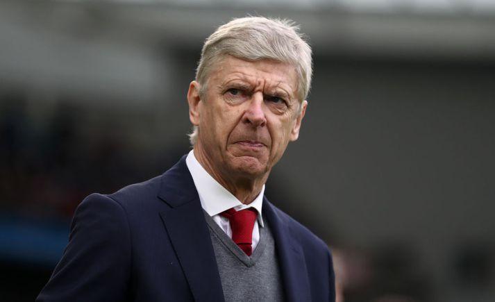 Frakkinn Arsene Wenger hefur verið við stjórnvöllinn hjá Arsenal síðan 1996