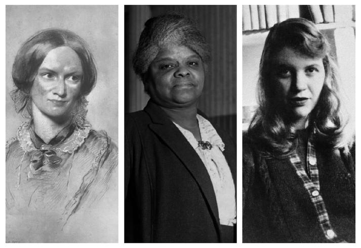 Charlotte Brontë, Ida B. Wells og Sylvia Plath eru meðal þeirra sem New York Times minnist nú, mörgum árum eftir dauða þeirra.