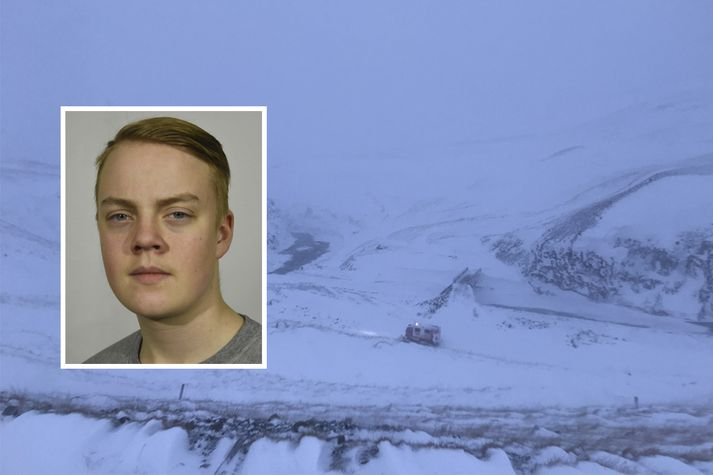 Lögreglan á Norðurlandi eystra birti mynd af Leif Magnusi á Facebook-síðu sinni nú fyrir hádegi.