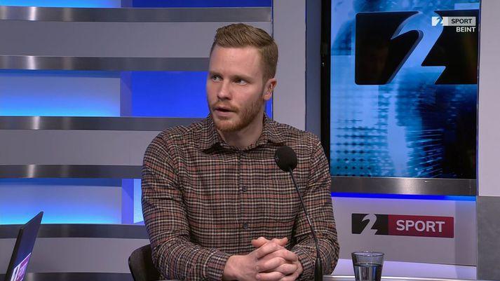 Arnar Sveinn Geirsson er forseti leikmannasamtakanna.