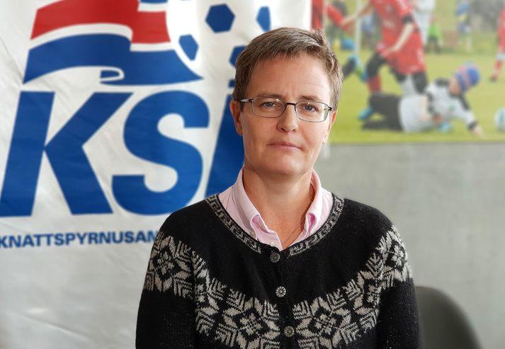 Klara Bjartmarz, framkvæmdastjóri KSÍ.