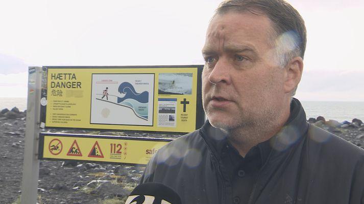Björn Ingi Jónsson, verkefnisstjóri almannavarna á Suðurlandi.