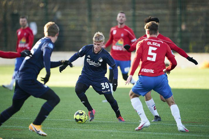Hákon Arnor Haraldsson samdi við FC København fyrir tveimur árum.