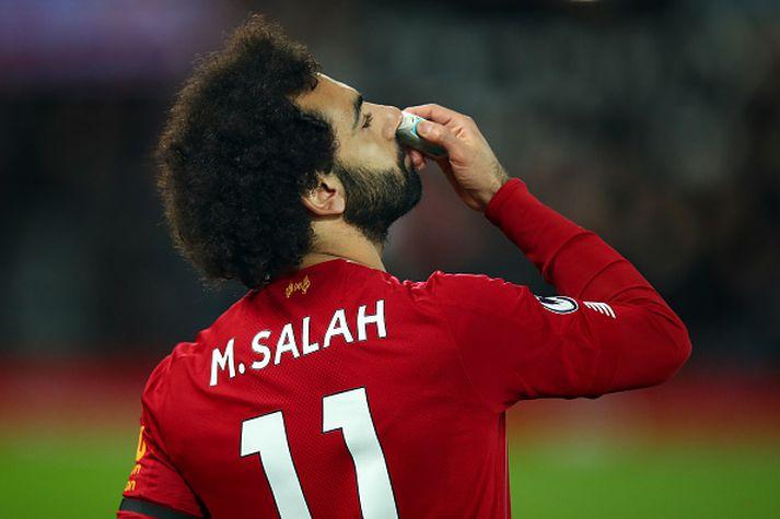 Salah í stuði.