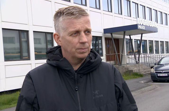 Víðir Reynisson, yfirlögregluþjónn hjá Almannavörnum.