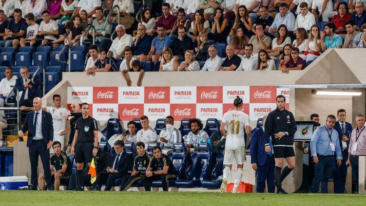 Stormasamt samband milli Bale og Zidane