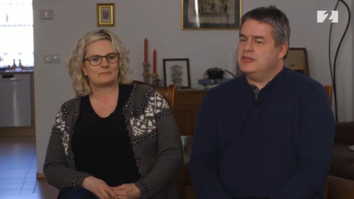 Dagný Sjöfn Guðmundsdóttir og Magnús Valgeirsson, foreldrar Alex Grétars.