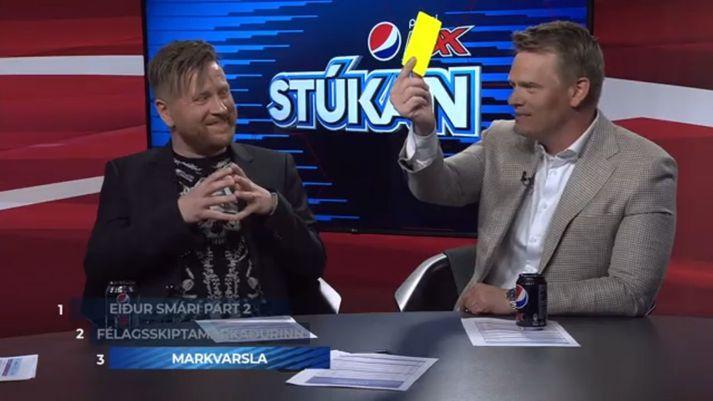 Það er aldrei að vita nema að gula spjaldið fari á loft í þætti kvöldsins.