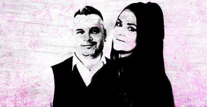Ingvar Valgeirsson og Eva Björnsdóttir.