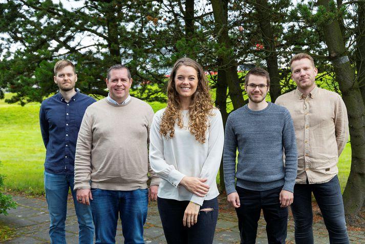 Starfsfólk Learncove, fv.: Hinrik Már Hreinsson,Gunnar Jónsson, Aðalheiður Hreinsdóttir, Sölvi Már Benediktsson og Sveinbjörn Ásgeirsson.