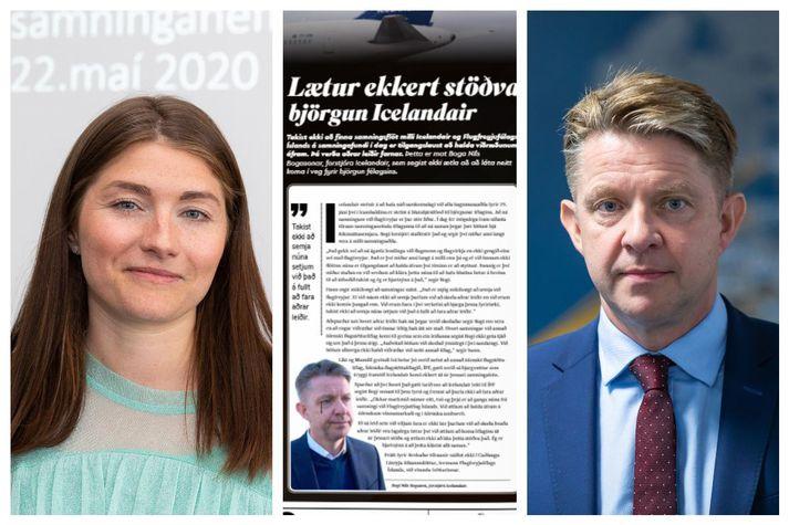 Fundi milli FFÍ og Icelandair lauk á áttunda tímanum í kvöld.