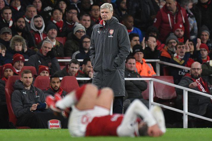 Arsene Wenger, knattspyrnustjóri Arsenal.
