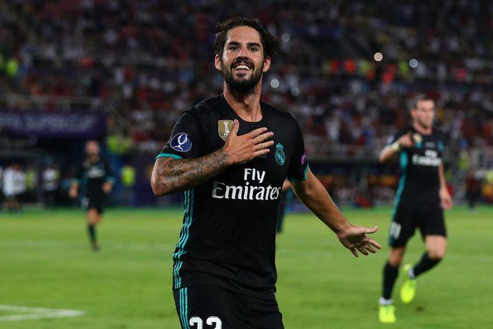 Isco í leik með Real Madrid.