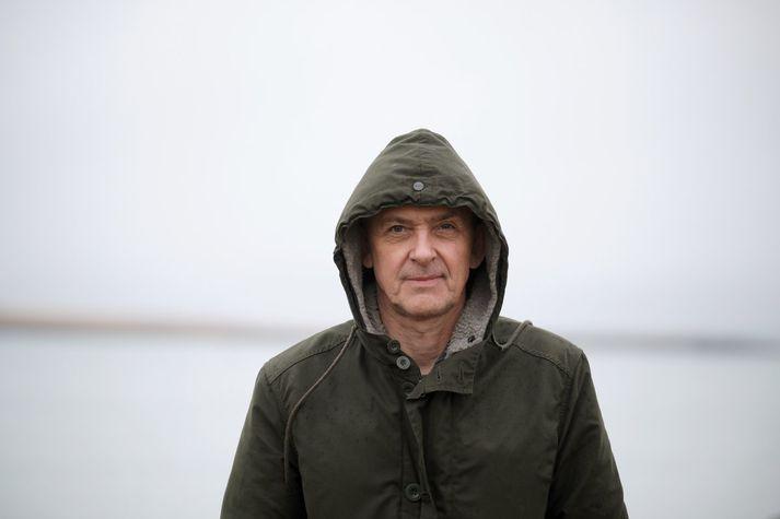 """""""Þegar ég skrifa þarf ég að hafa gaman sjálfur,"""" segir Bragi Ólafsson."""