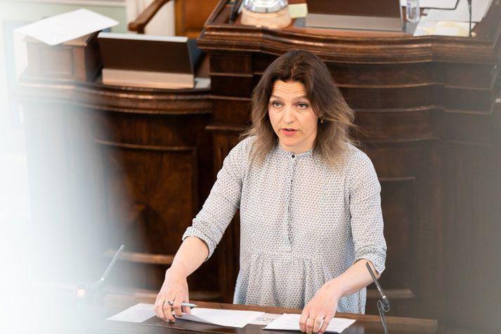 Rósa Björk Brynjólfsdóttir þingmaður.