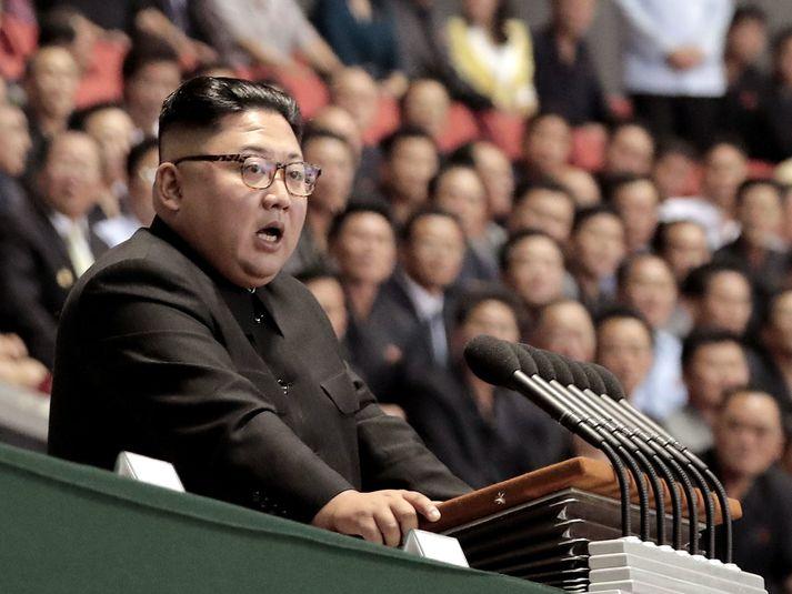 Kim Jong-un, leiðtogi Norður-Kóreu, er lítið gefinn fyrir menningarlega fjölbreytni.