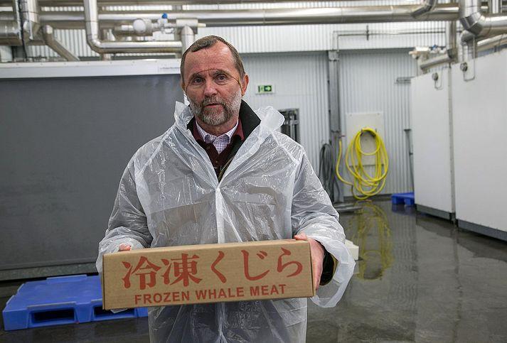 New York Times fjallar um Kristján Loftsson og hvalveiðar Íslendinga í grein sem birtist í dag.