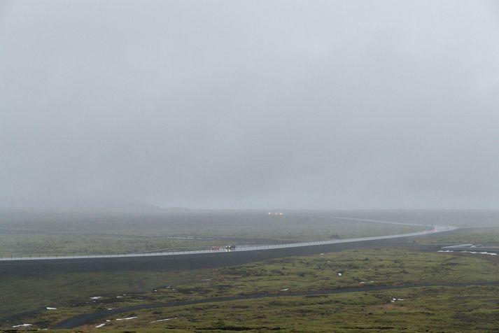 Suðurlandsvegur og Hellisheiði