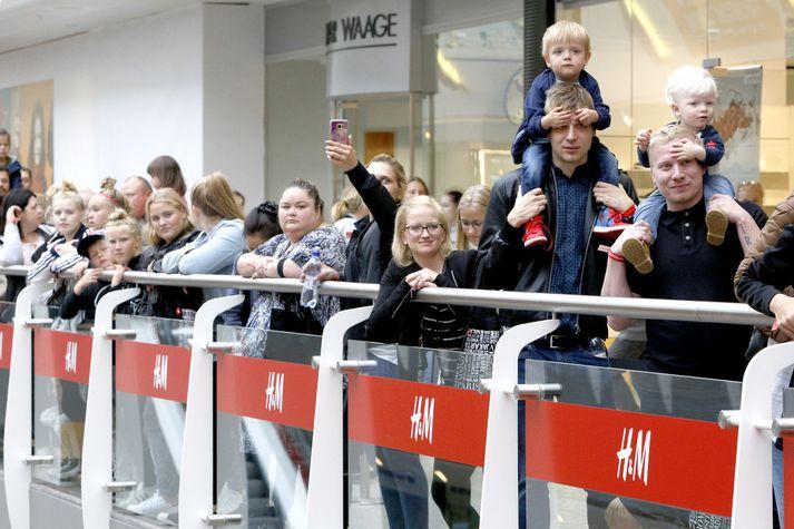 Hægst hefur á sölu H&M frá opnun í ágúst.