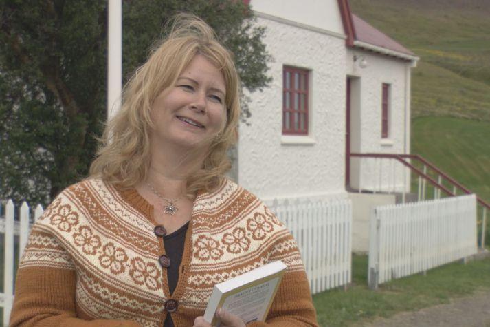 Hanna Rósa Sveinsdóttir er formaður Menningarfélagsins Hrauns.