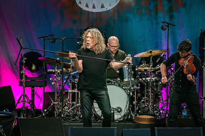 Robert Plant er enn í fullu fjöri.
