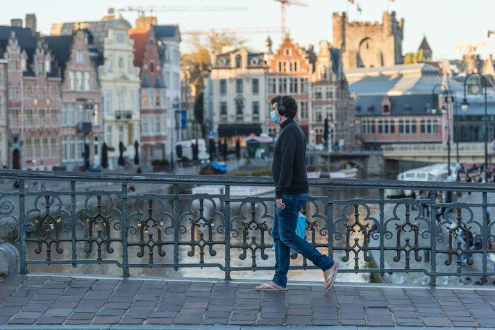 Samfélagslegar takmarkanir í Belgíu hafa verið hertar verulega.