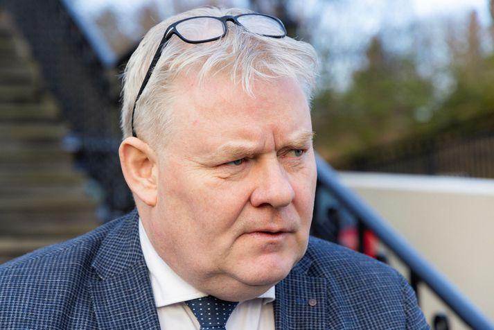 Sigurður Ingi Jóhannsson er formaður Framsóknarflokksins.