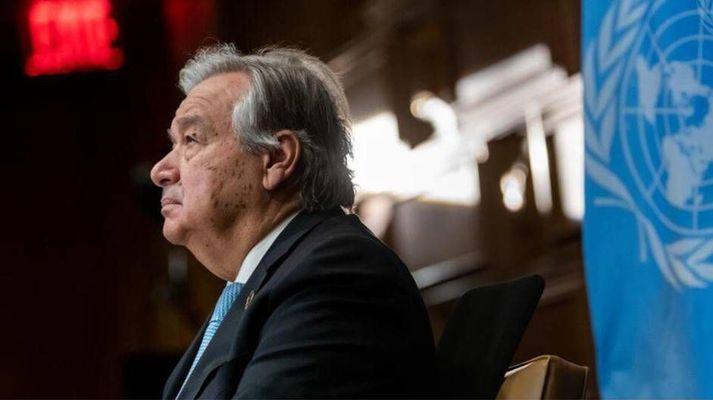 António Guterres aðalframkvæmdastjóri Sameinuðu þjóðanna.
