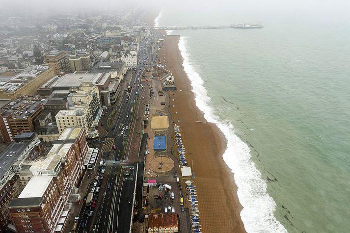 Brighton á suðurströnd Englands.