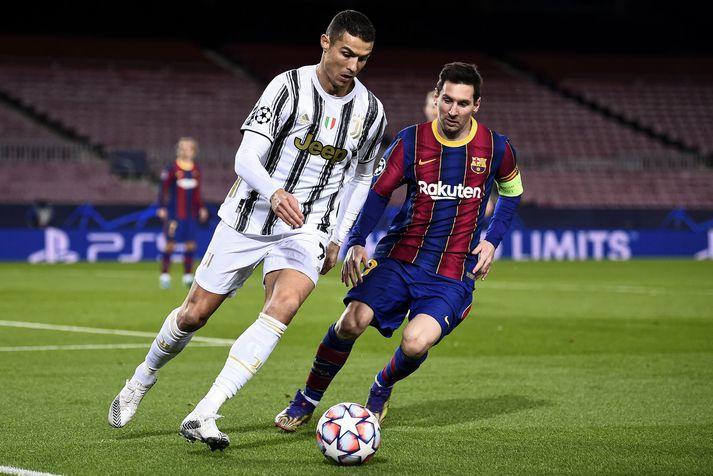 Cristiano Ronaldo og Lionel Messi hafa mæst oft á knattspyrnuvellinum og barist um flest einstaklingsverðlaun fótboltans mörgum sinnum. Þeir hefðu getað orðið liðsfélagar á táningsaldri.
