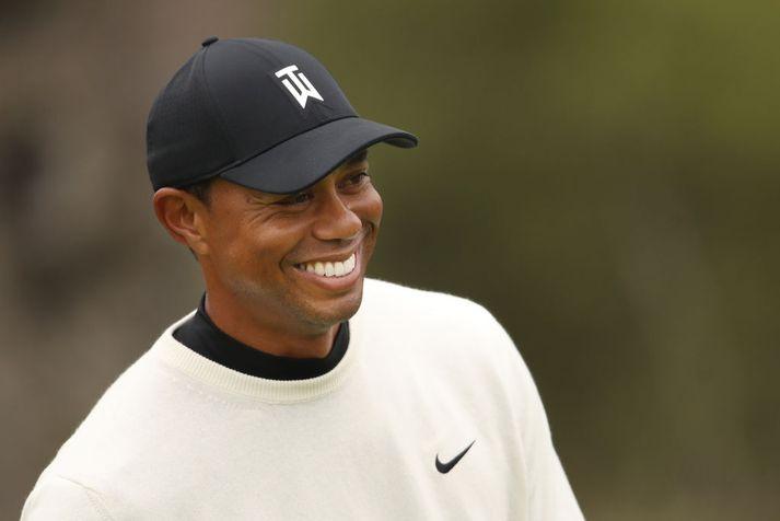 Tiger er klár í slaginn.