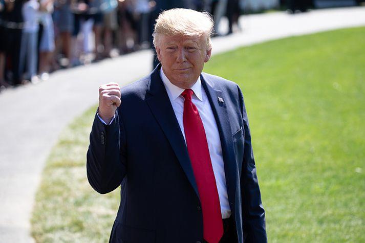 Trump tilkynnti á Twitter í gær að hann hygðist fresta fyrirhugaðri heimsókn sinni til Danmerkur.