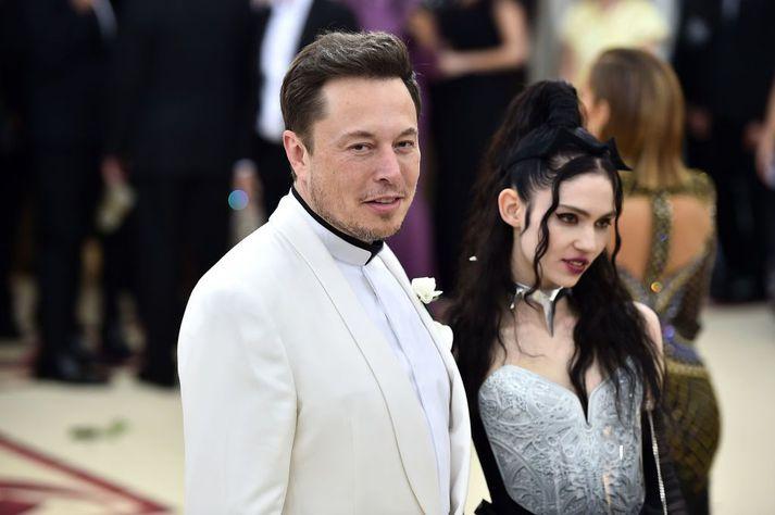 Elon Musk og Grimes hafa verið saman síðan árið 2018.
