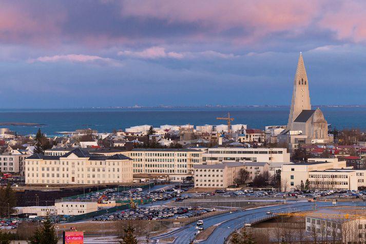 Það er spáð ágætu veðri á höfuðborgarsvæðinu í dag.