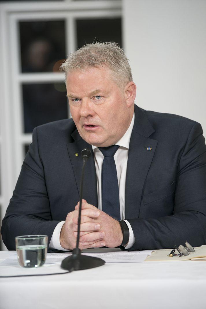Sigurður Ingi Jóhannsson, samgöngu- og sveitastjórnarráðherra