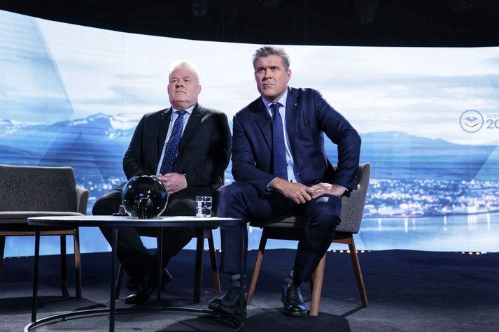 Sigurður Ingi og Bjarni Benediktsson hafa átt margt samtalið undanfarin fjögur ár. Samtölin gætu orðið fleiri.
