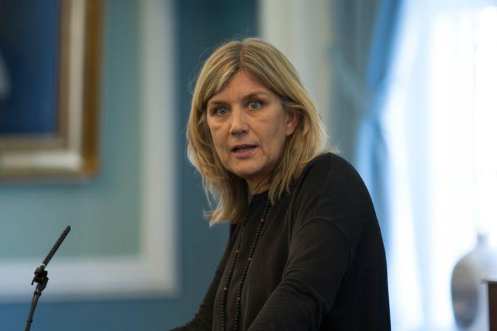 Hanna Katrín Friðriksson, þingmaður Viðreisnar og nefndarmaður í umhverfis- og samgöngunefnd Alþingis.