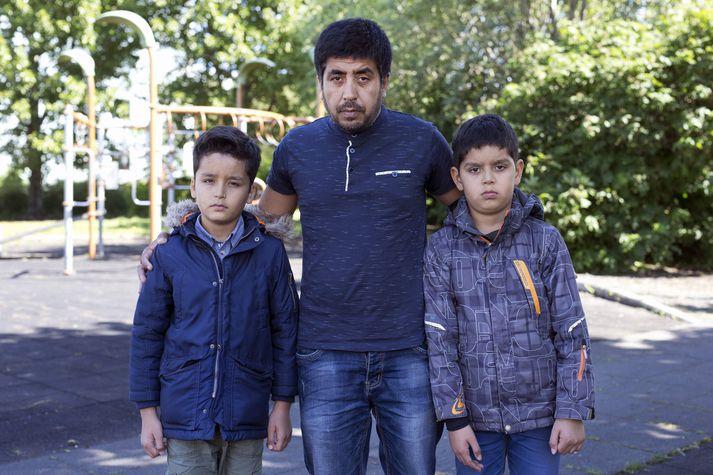 Asadullah Sarwary, Mahdi Sarwary og Ali Sarwary.