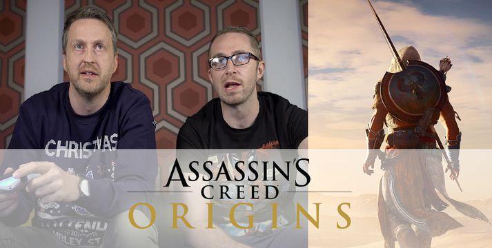 Óli Jóels úr GameTíví henti sér nýverið til Egyptalands og spilaði nýjasta Assassins Creed leikinn.