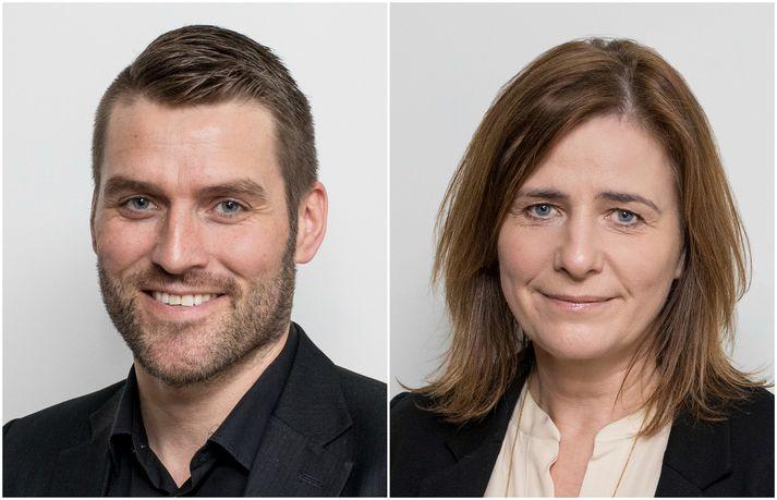 Fannar Eðvaldsson og María Stefánsdóttir eru komin í framlínusveitina hjá Icelandair.