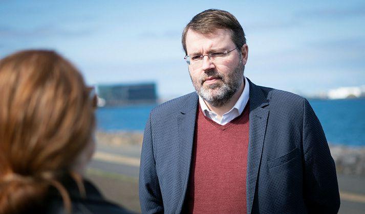 Jóhannes Þór Skúlason er framkvæmdastjóri Samtaka ferðaþjónustunnar.