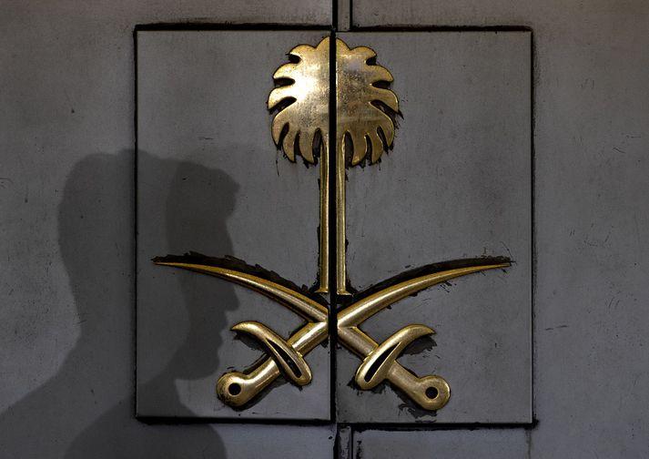Khashoggi er talinn hafa verið myrtur á ræðismannsskrifstofu Sádi-Arabíu í Istanbúl.