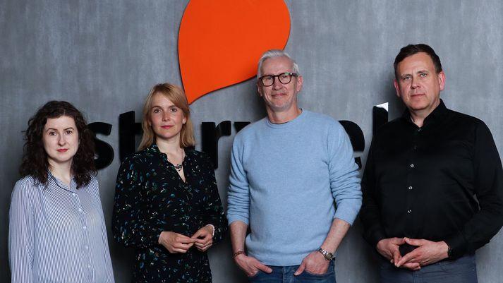 Elísabet Hafsteinsdóttir, Stella Soffía Jóhannesdóttir, Óskar Guðmundsson og Stefán Hjörleifsson.