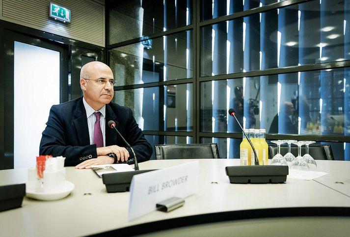 Bill Browder hefur lagt fram gögn um peningaþvætti í útibúi Danske bank í Eistlandi.