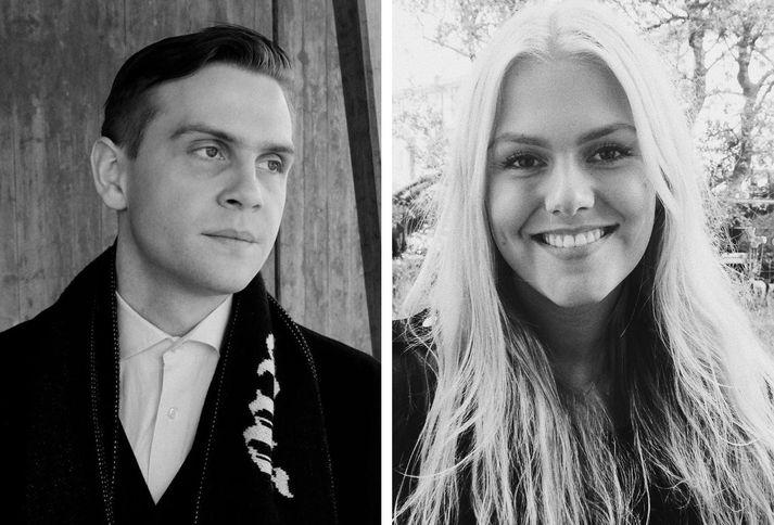 Arnar Helgi Garðarsson og Hildur Helga Jóhannsdóttir.
