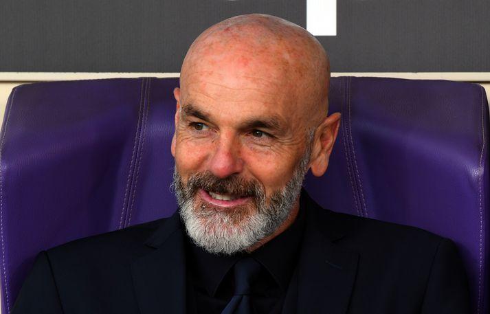 Stefano Pioli er orðaður við starfið hjá AC Milan.