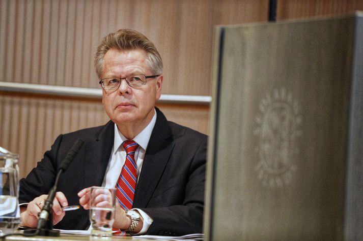 Már Guðmundsson seðlabankastjóri. Lækkun stýrivaxta ætti ekki að þurfa að koma á óvart.