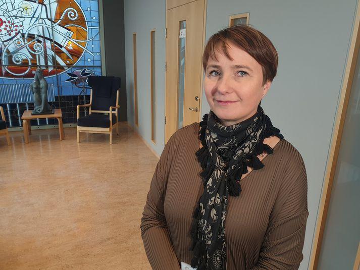 Þórunn Hanna Halldórsdóttir, fulltrúi í fagráði Reykjalundar.